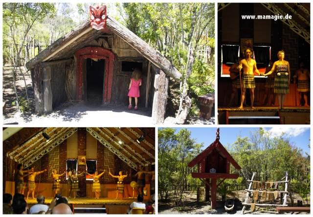 Neuseeland, Rotorua: Te Puia Maori Dorf