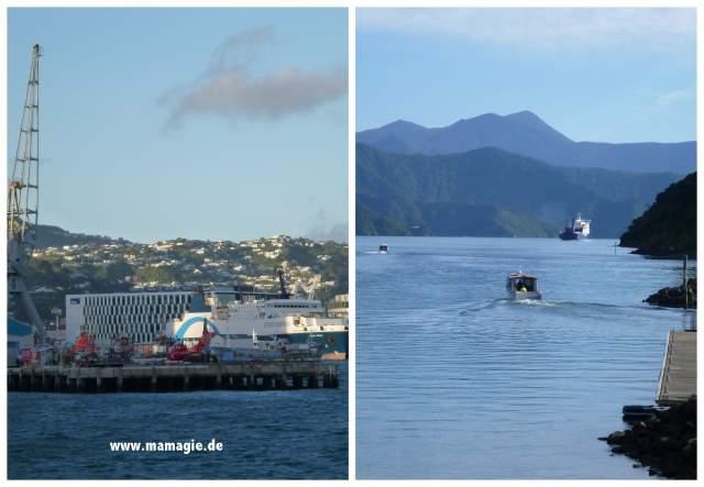 Neuseeland: Fähre von Wellington auf der Nordinsel nach Picton auf der Südinsel