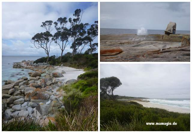 Bicheno, Bay of Fires, Binalong Bay, Tasmanien