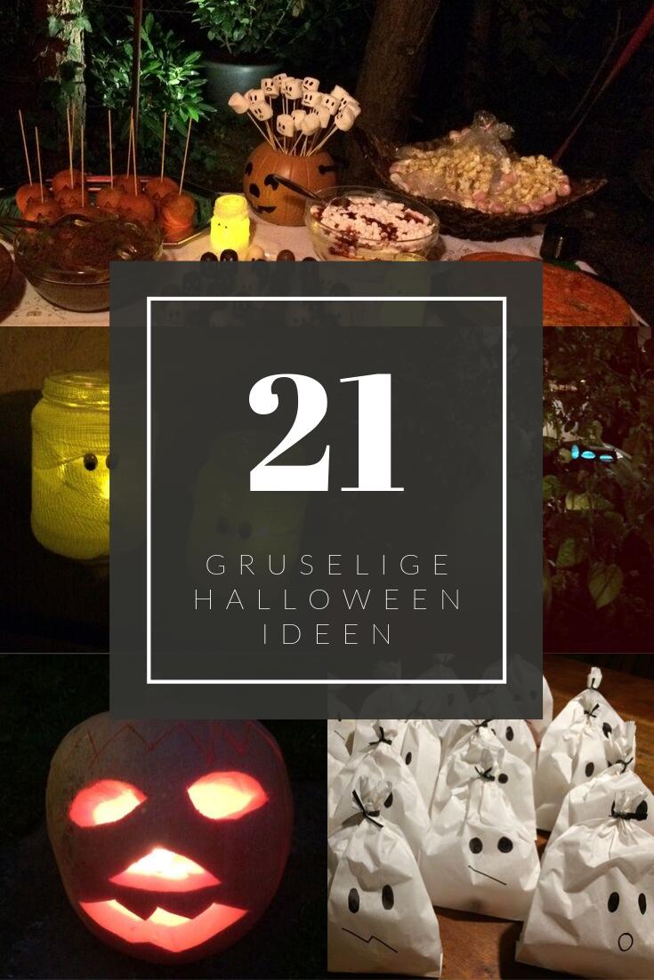 DIY und Rezepte für die Halloween-Party