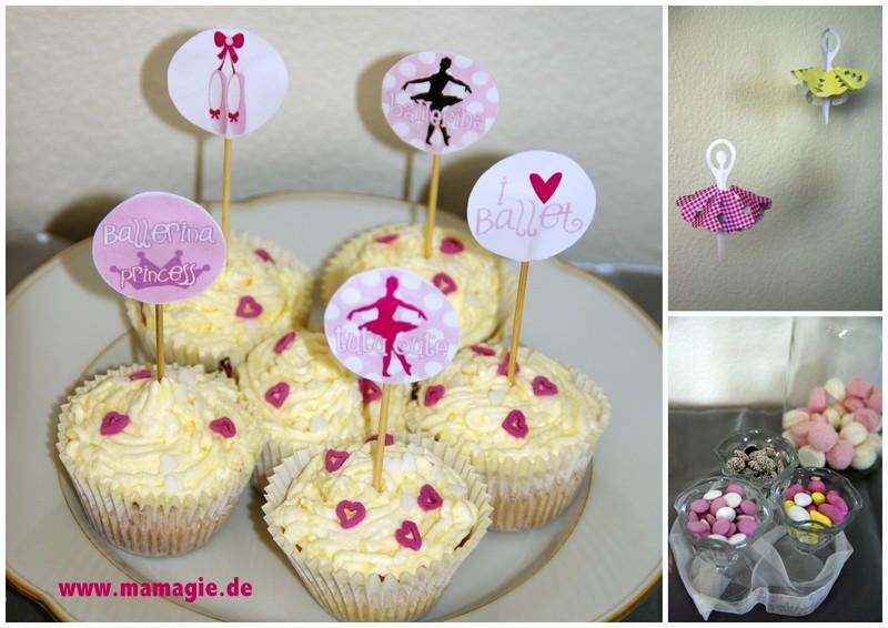 Sweet Table für kleine Ballerinas