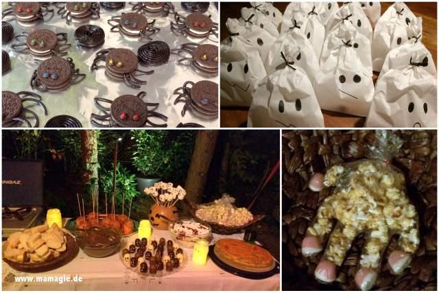 Gruselige Snacks und Süßigkeiten für Halloween selber machen