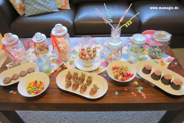 Candy Bar Pyjamaparty