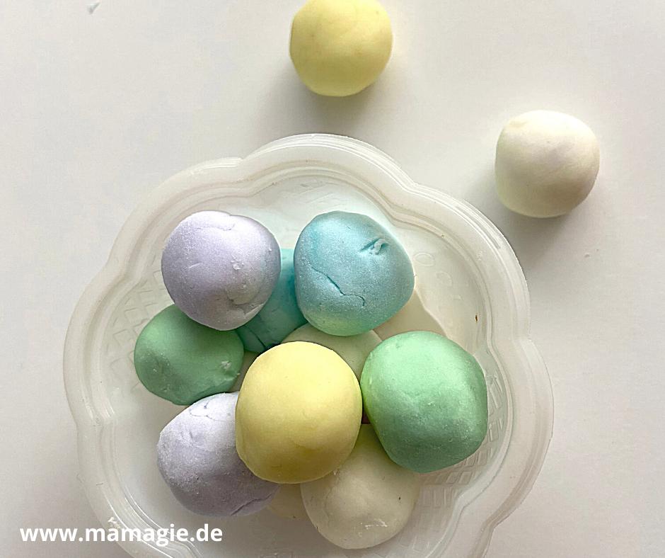 einfaches Rezept für Knetseife für Kinder