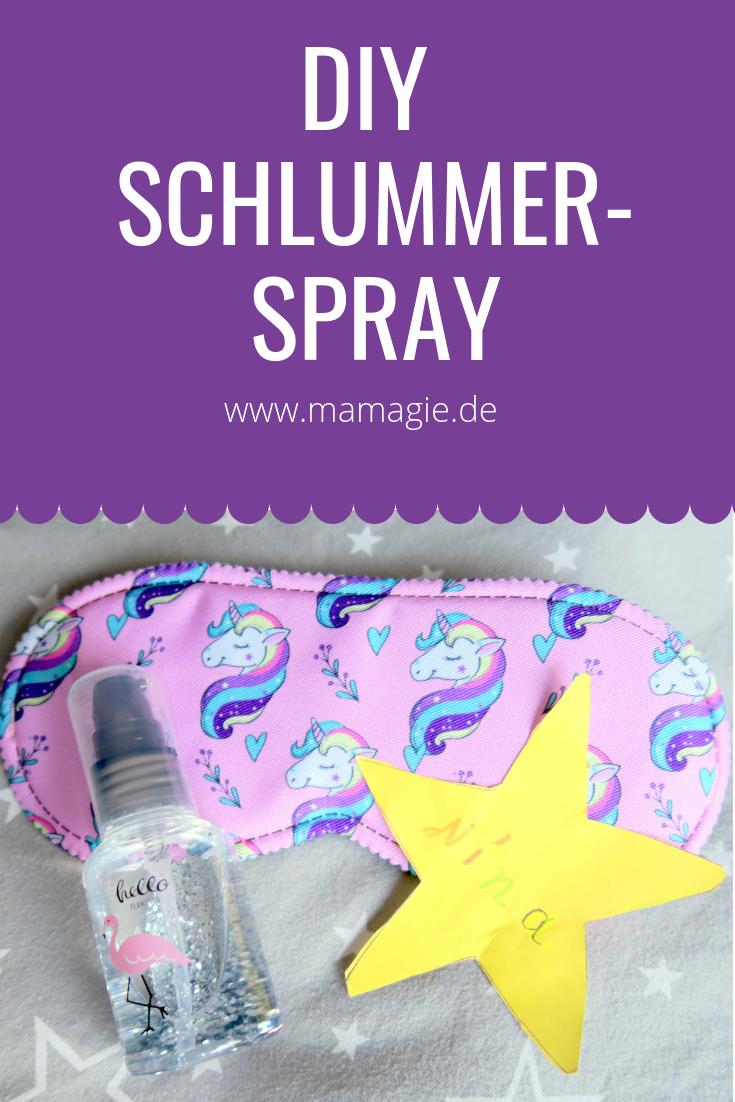 DIY Spray zum sanften Einschlafen