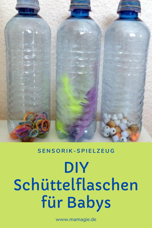 Sensorik-Spielzeug für Babys und Kleinkinder selber machen