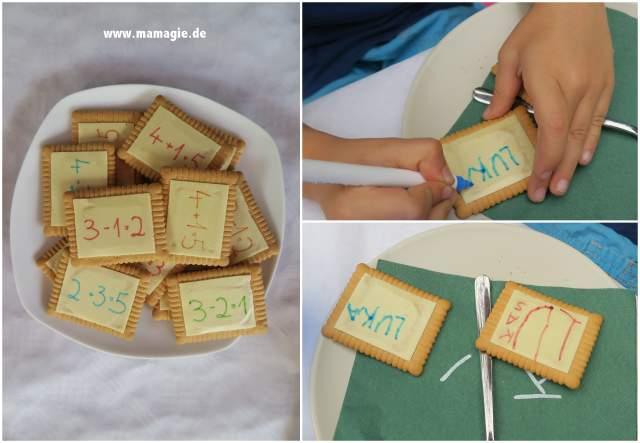 Kekse, auf die man Schreiben kann
