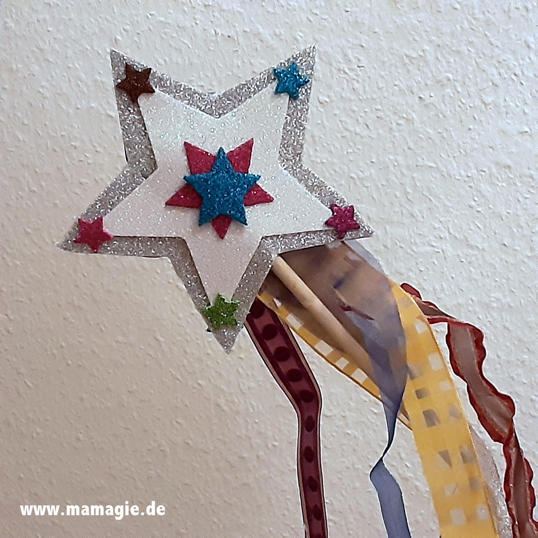 Selbst gemachter Zauberstab für Prinzessinen, Feen und Elfen