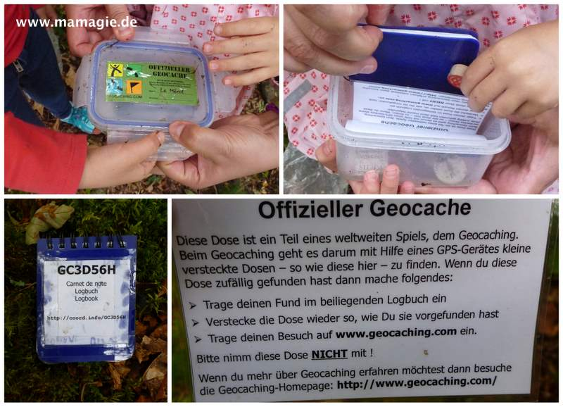 Fund beim Geocaching
