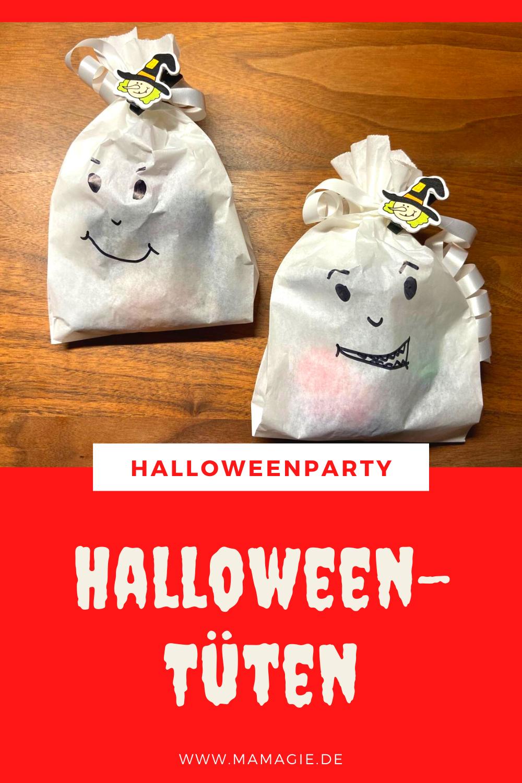 Mitgebsel für die Halloweenparty