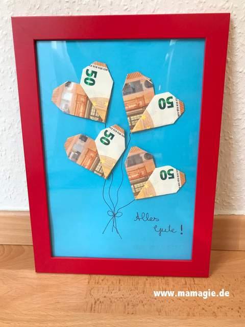 Geld zur Hochzeit verschenken