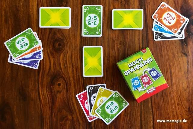 Erfahrungen und Bewertung Kartenspiel Hochspannung