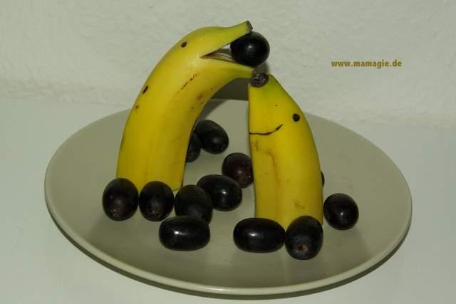 Tiere aus Früchten