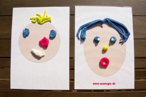 Emotionen lernen mit Knete