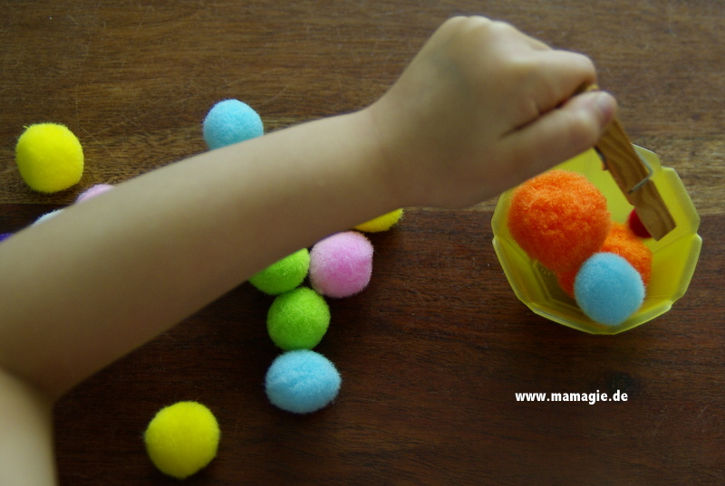 Montessorimaterial selbstgemacht