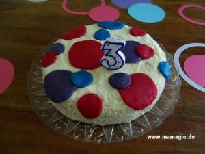 Geburtstagskuchen für Kinder
