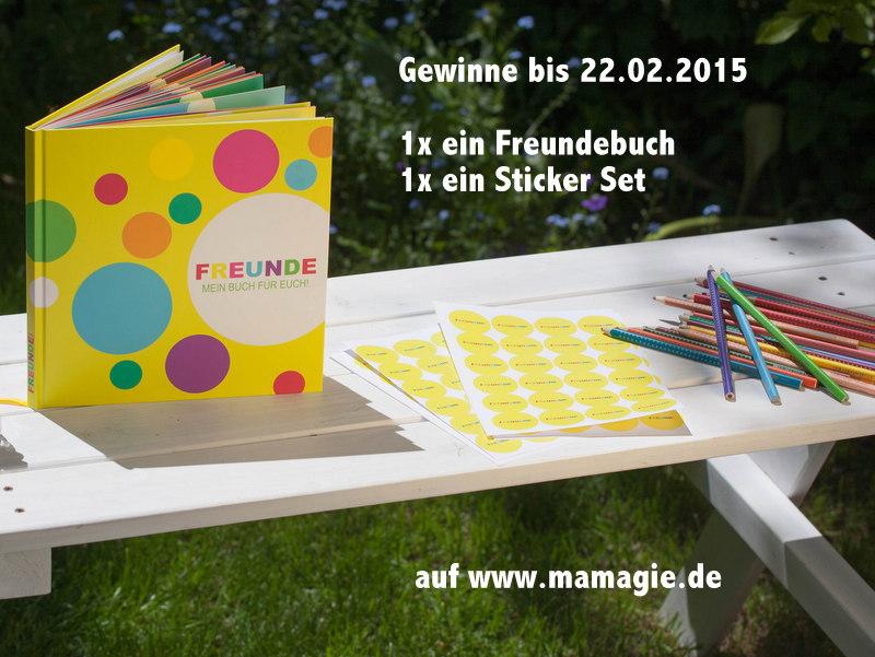 Freundebuch gewinnen!