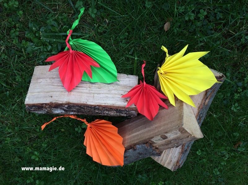 Anleitung für tolle gefaltete Blätter
