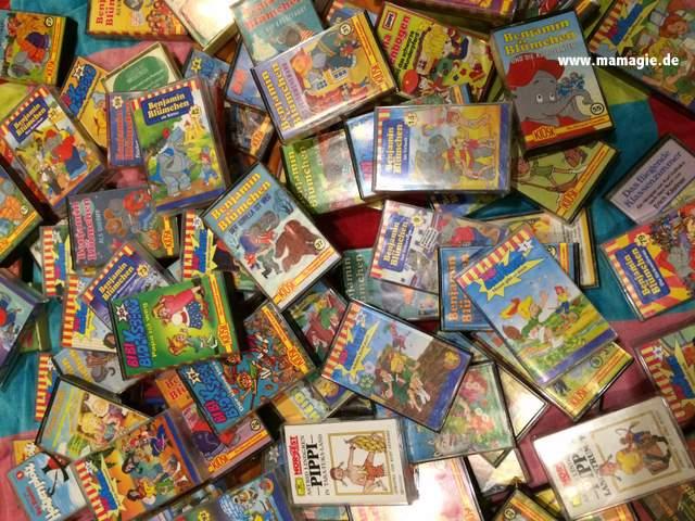 Kinderkassetten von Benjamin Blümchen und Bibi Blocksberg und Co.