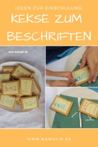 Kekse, die Kinder selbst beschriften können, machen