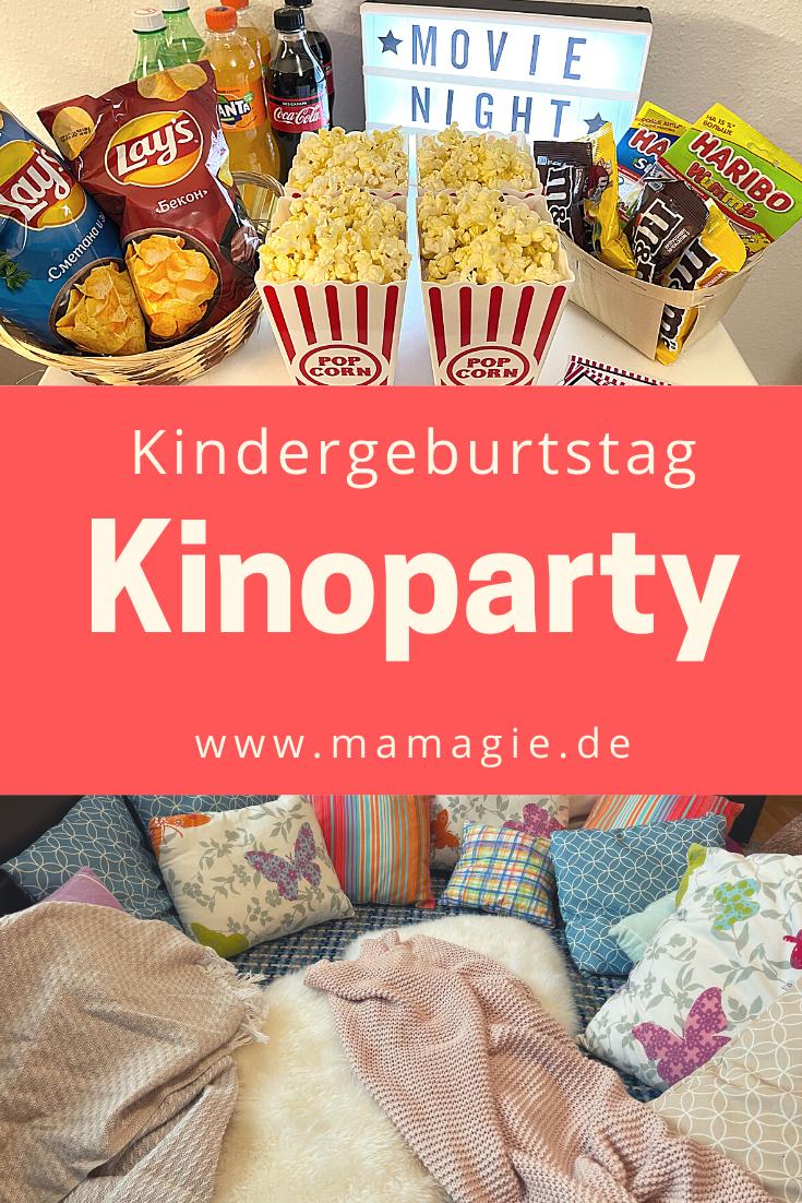 Kinoparty zu Hause feiern