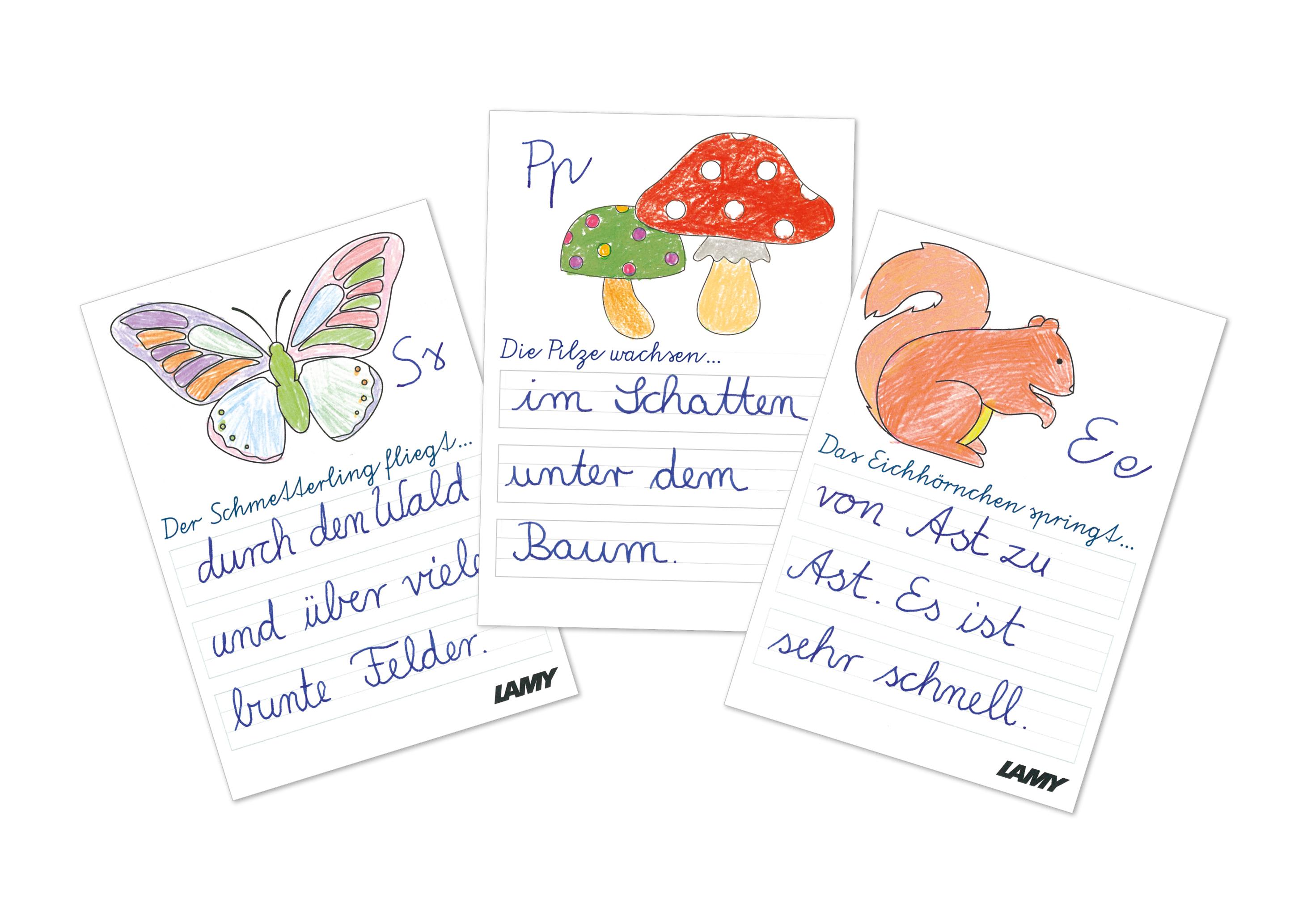 "Lamy Mitmach-Aktion ""Wilde Waldwelt"""