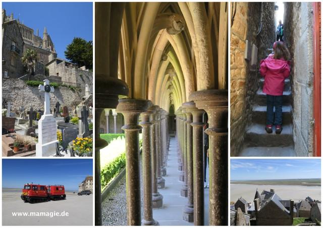 Le Mont-Saint-Michel Bretagne Frankreich