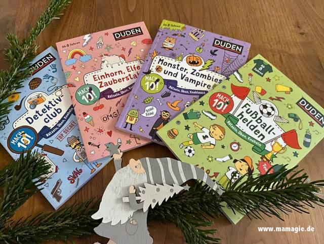 Rätselbücher für Kinder ab 8 Jahren