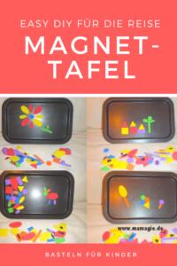 Magnetspielzeug für Kinder selber machen für die Reise oder zu Hause