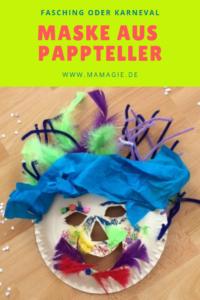 Kostüm basteln mit Kindern für Fasching oder Karneval