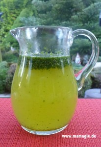 Leckere Limonade mit Minze