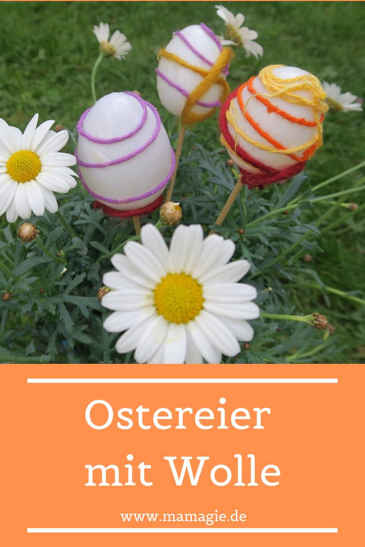 Osterschmuck mit Kindern basteln