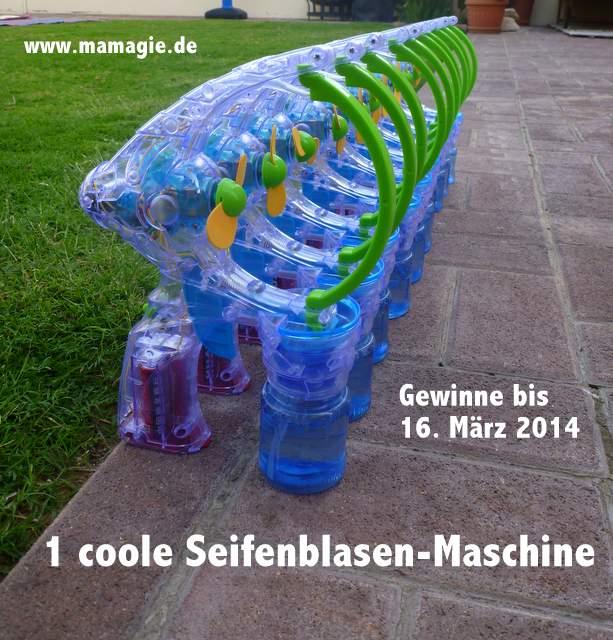 Maschine für Seifenblasen gewinnen