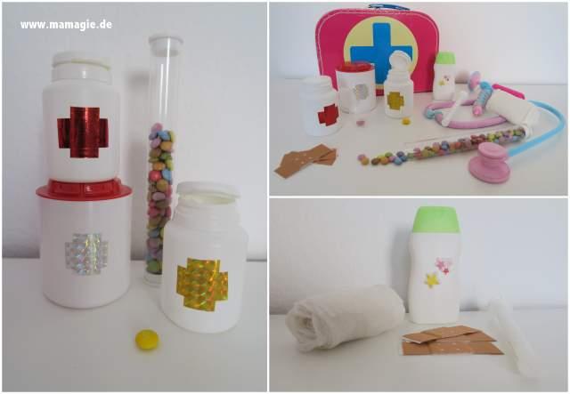 Spielzeug-Arztkoffer mit Recyclingmaterial