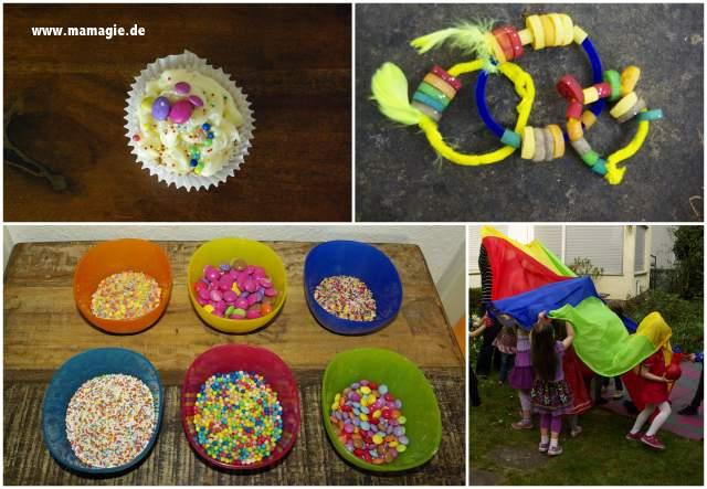 Cupcakes dekorieren, Nudelketten