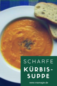 besondere Kürbissuppe mit Butternuss-Kürbis