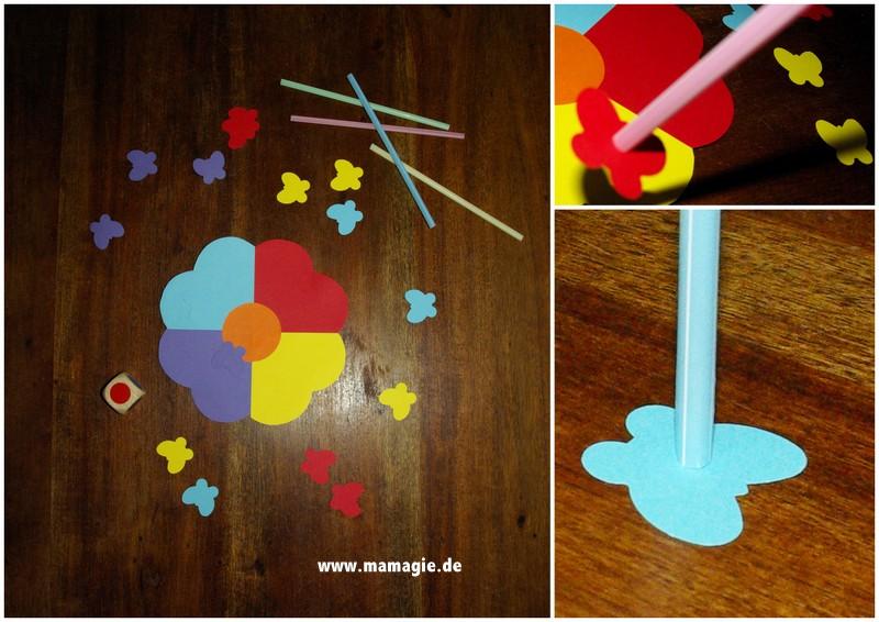 Spiel zum Farbenlernen und der Förderung der Mundmotorik