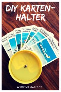 Kartenhalter für Kinder selber machen