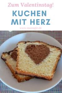 Kuchen backen zum Valentinstag