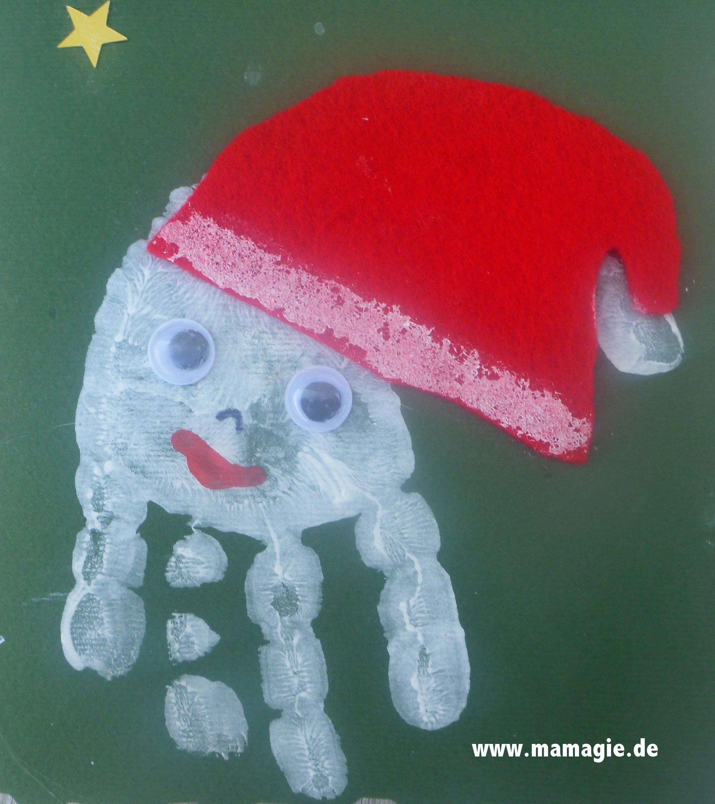Weihnachtskarten Basteln Mit Kleinkindern.Weihnachtskarte Basteln Mit Kleinkindern