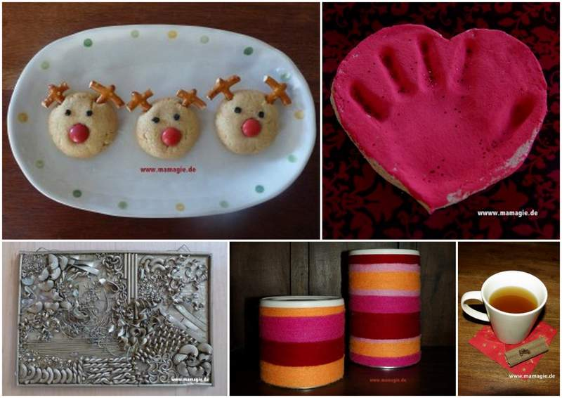 Weihnachtsgeschenke backen und basteln mit Kindern