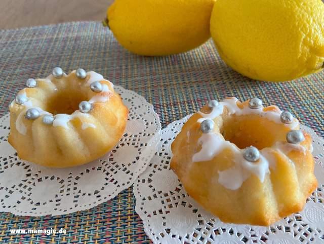 Schnelles Rezept für saftige Zitronen-Mufins