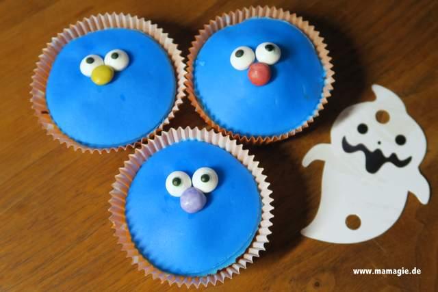 Monster-Muffins für die Kinderparty