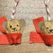 DIY Weihnachtsschmuck: Bärchen aus Nussschalen