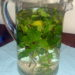 Sommererfrischung: Minzwasser