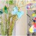 Schmetterlinge aus Filtertüten basteln