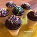 Ideal für den Kindergeburtstag in Kita oder Schule: Muffins im Waffelbecher